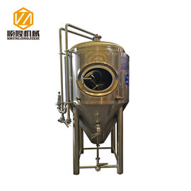 China o mini Turnkey/Customeized exteriores do equipamento 2mm Shell da cervejaria da cerveja 500L planta o tipo fornecedor
